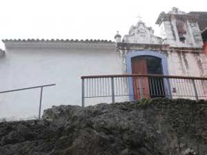 Capela Santa Luzia é a edificação mais antiga