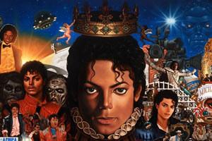 Capa do novo álbum de Michael Jackson, que está sendo lançado mundialmente