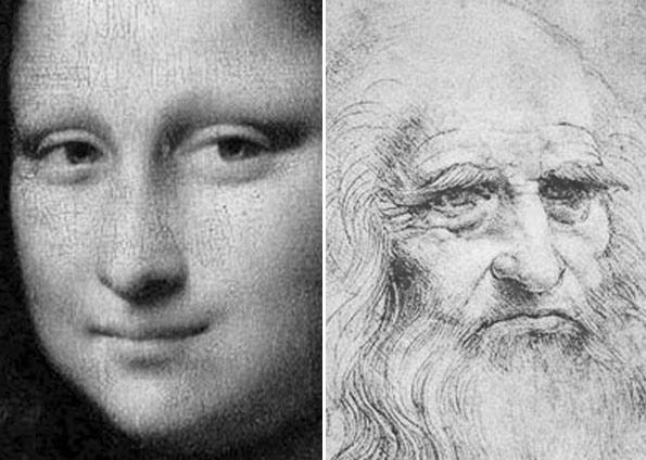 As teorias mais comuns são as de que La Gioconda seria a mãe de Leonardo ou a mulher de um mercador de Florença