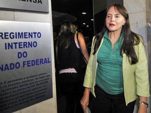 A senadora Serys Slhessarenko (PT-MT) (Foto: José Cruz / Agência Brasil)