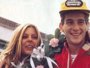 Foto de Lilian e Senna