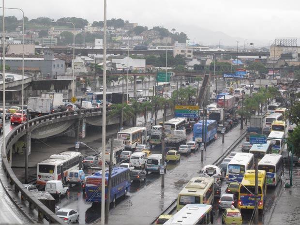 Avenida Brasil - chuvas