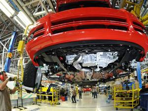 Fábrica da Fiat, em Betim, Minas Gerais