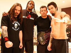 A banda de thrash metal Sepultura