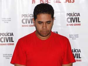 Thales Maioline, durante apresentação na Polícia Civil