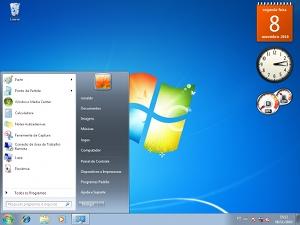 Área de trabalho do Windows.