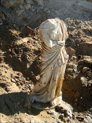 Estátua romana Israel 1