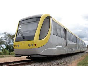 VLT de Macaé - veículo similar será usado em ligação com outros municípios