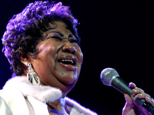 A cantora americana Aretha Franklin (Foto: AP)