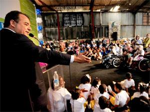 Sérgio Cabral defendeu a legalização do jogo no país