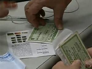 Titulo de Eleitor (Foto: Reprodução TV Globo)