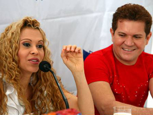 Joelma e Chimbinha, do Calypso