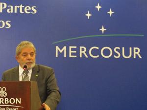 Presidente Lula em reunião do Mercosul
