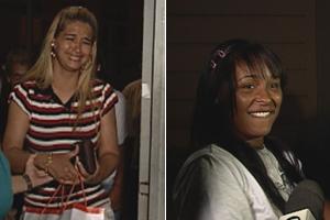Dayanne e Fernanda deixam o presídio em BH