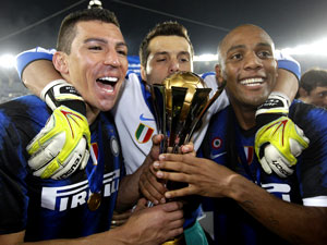 Inter de Milão é campeão mundial (AP)