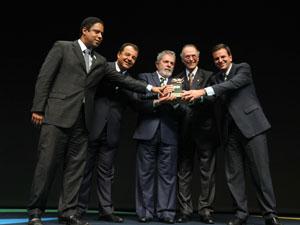 Lula no evento Brasil Olímpico 2010