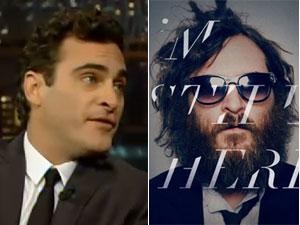 Sem a barba e os cabelos desgrenhados, Phoenix voltou ao 'Letterman show' este ano para explicar a farsa