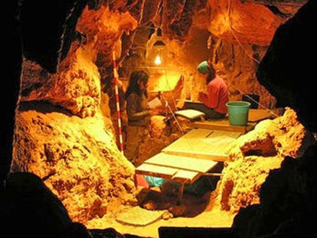 Fragmentos de ossos foram encontrados em caverna das Astúrias