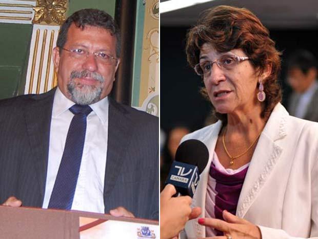 Afonso Bandeira Florence (PT-BA), à esquerda, e Iriny Lopes (PT-ES) foram os dois últimos indicados.