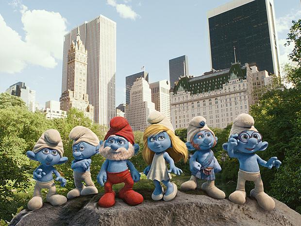 Imagem de 'Smurfs 3D' (Foto: Divulgação)