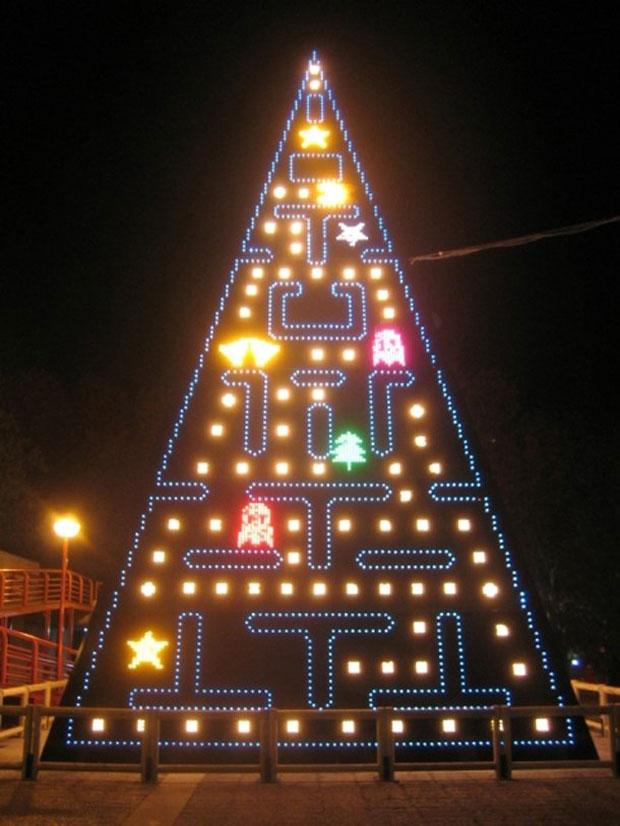 Árvore Pac-Man em Madrid