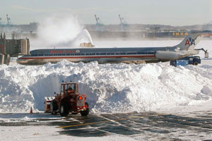 Neve cancela 2 mil voos nos EUA e afeta rotas com o Brasil