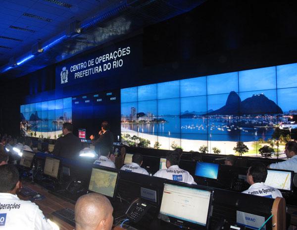 O Centro de Operações fica na Cidade Nova, no Centro do Rio