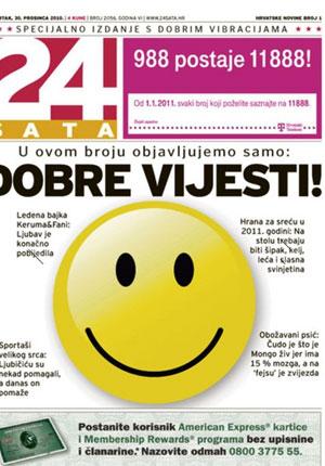 Jornal da Croácia publica edição apenas com notícias boas