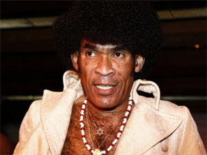 Bobby Farrell, vocalista do grupo Boney M