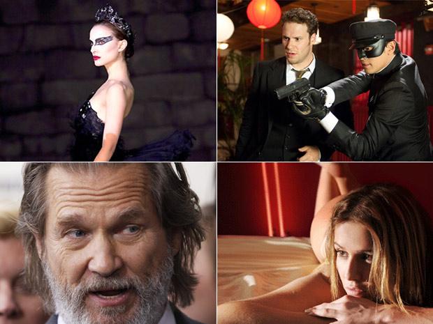 """""""Cisne Negro"""", """"Besouro Verde"""", """"Bravura indômita"""" e """"Bruna Surfistinha"""" estão entre as estreias de 2011"""