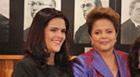 Dilma vai com a filha ao desfile da posse