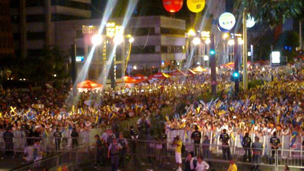 Barra da Saia abre a festa na Paulista; veja o blog