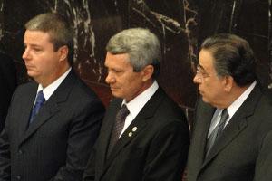 Antonio Anastasia, Doutor Viana e Alberto Pinto Coelho