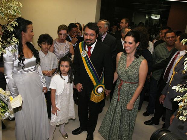 O governador do Amapá, Camilo Capiberibe, toma posse neste sábado (1º).