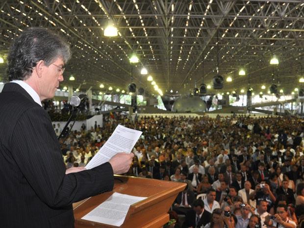 Ricardo Coutinho discursou na Assembleia Legislativa, em João Pessoa
