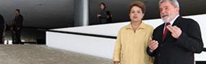 Posse de Dilma deve reunir  70 mil em Brasília hoje (Ricardo Stuckert / PR)