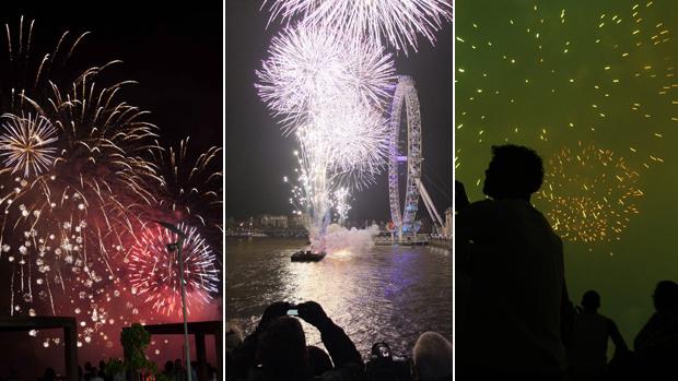 Internautas fotografam o réveillon 2011 pelo mundo (VC no G1)