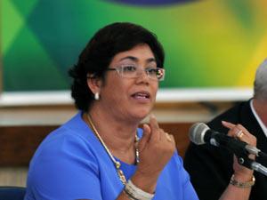A ex-ministra Erenice Guerra, em foto de agosto do ano passado, quando ainda estava no comando da Casa Civil (Foto: Roosewelt Pinheiro / Agência Brasil)