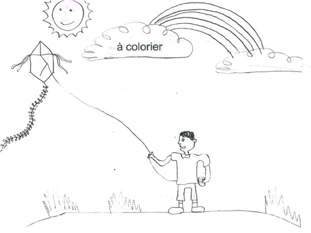 Desenho de Merivaldo Cândido foi enviado para o Haiti