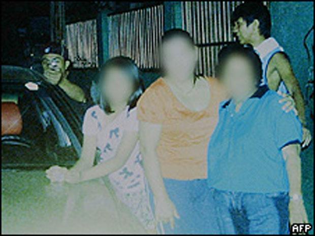 Foto cedida pela família Dagsa à polícia das Filipinas mostra o assassino do político local