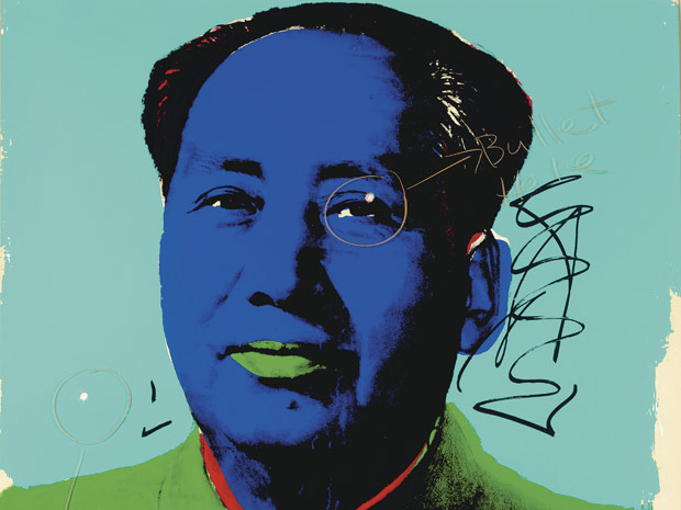 Obra de Warhol com a 'colaboração' de Dennis Hopper