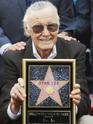 O quadrinista Stan Lee