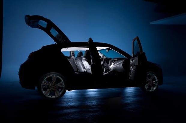 Teaser do Hyundai Veloster