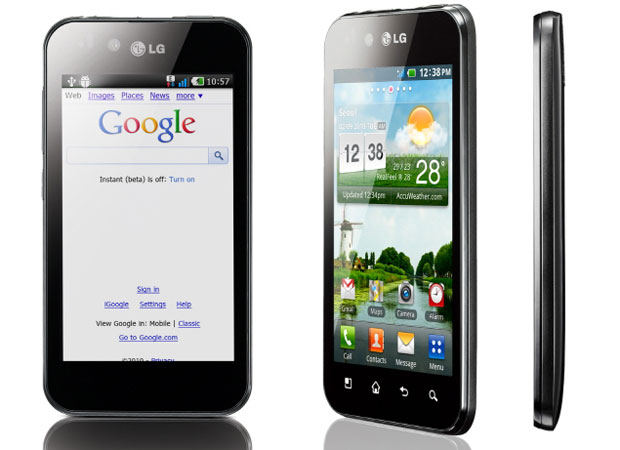 celular LG Optimus Black