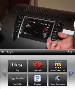 Sistema da Toyota vem com busca de endereços pelo Bing.