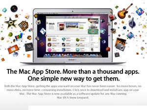 Loja de aplicativos para Macs, da Apple
