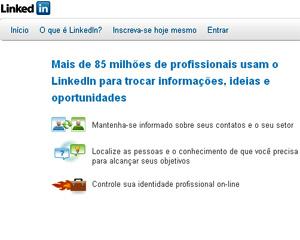 LinkedIn, rede social profissional (Foto: Reprodução)