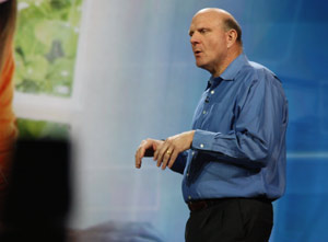 Presidente da Microsoft fez abertura oficial da CES 2011.
