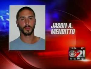 Jason A. Menditto é acusado de ato sexual com cão.
