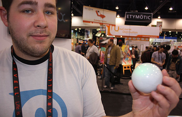 Bola controlada pelo telefone celular vai custar US$ 100 nos EUA.